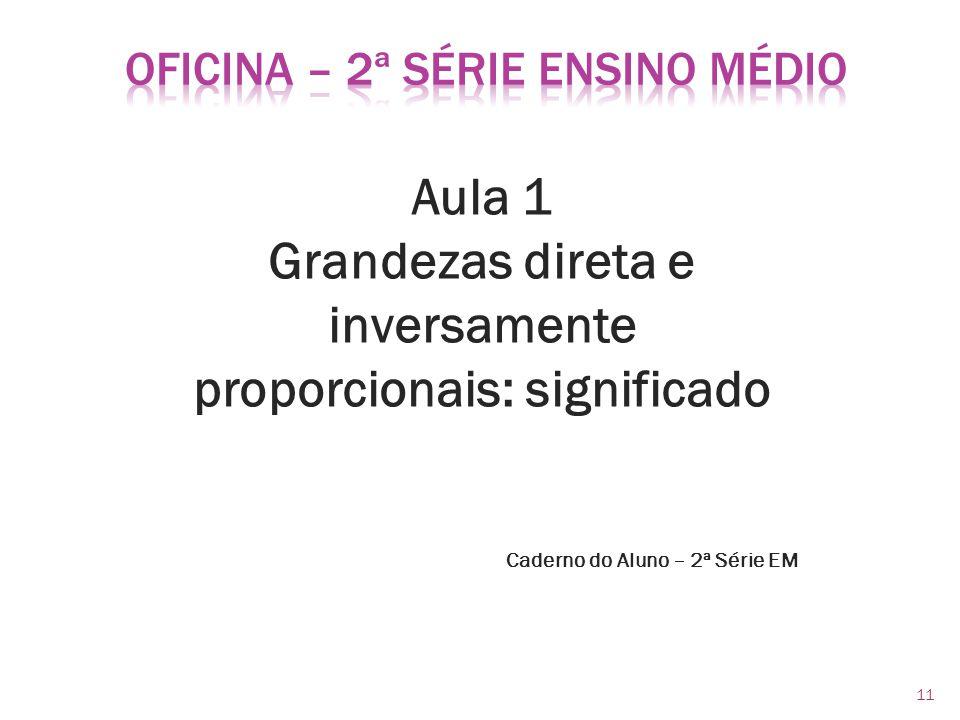 OFICINA – 2ª Série Ensino Médio