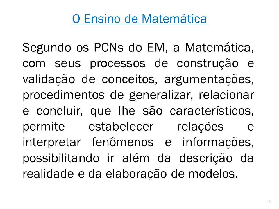 O Ensino de Matemática