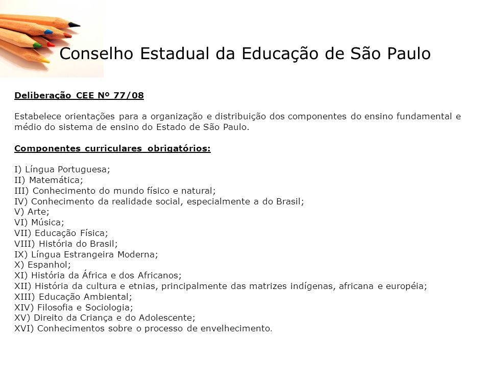Conselho Estadual da Educação de São Paulo