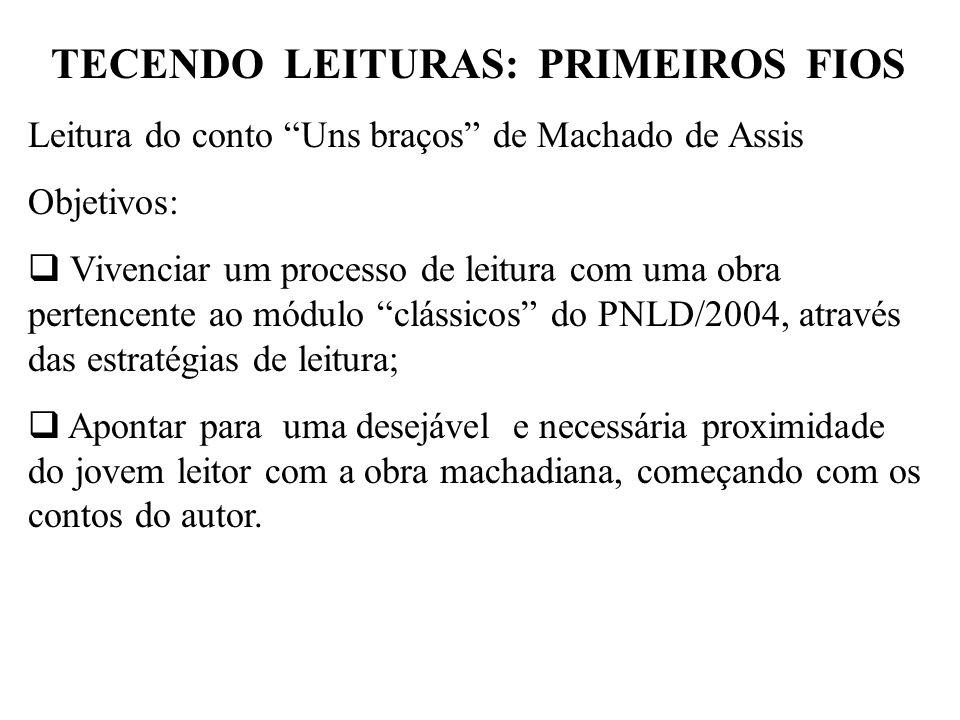 TECENDO LEITURAS: PRIMEIROS FIOS
