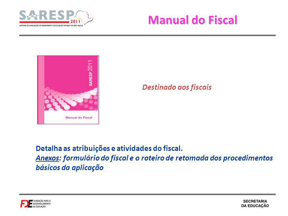 Manual do Fiscal Destinado aos fiscais