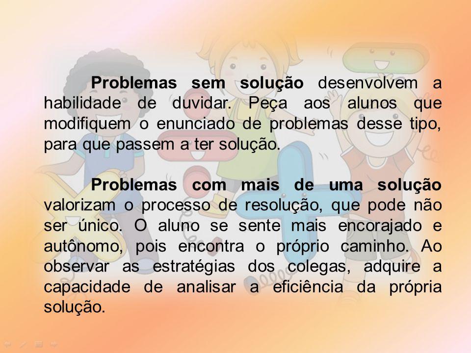 Problemas sem solução desenvolvem a habilidade de duvidar