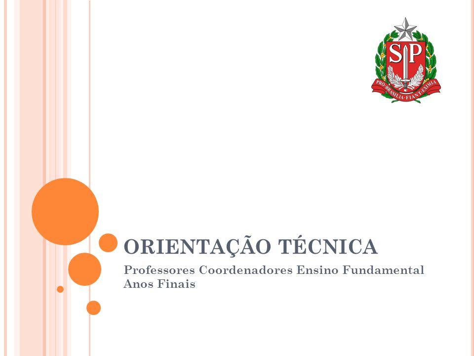Professores Coordenadores Ensino Fundamental Anos Finais