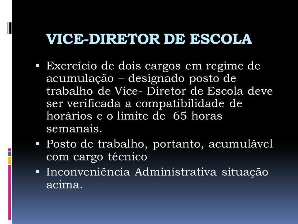 VICE-DIRETOR DE ESCOLA