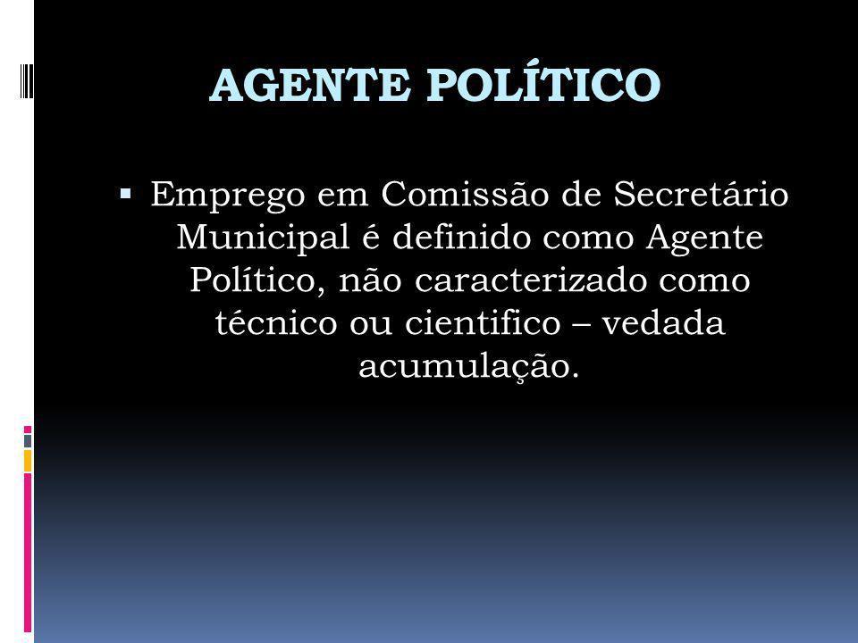 AGENTE POLÍTICO
