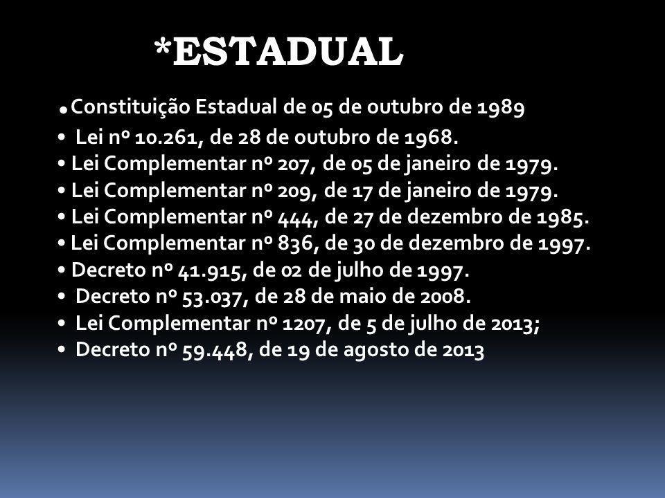 *ESTADUAL .Constituição Estadual de 05 de outubro de 1989