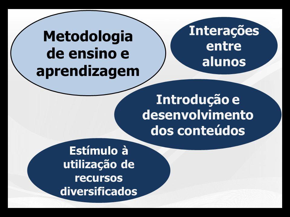 Metodologia de ensino e aprendizagem