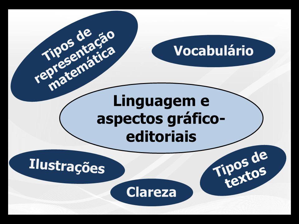 Linguagem e aspectos gráfico-editoriais