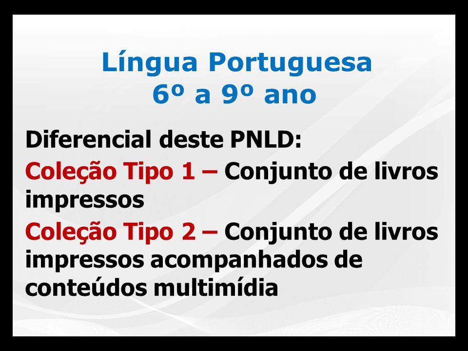 Língua Portuguesa 6º a 9º ano