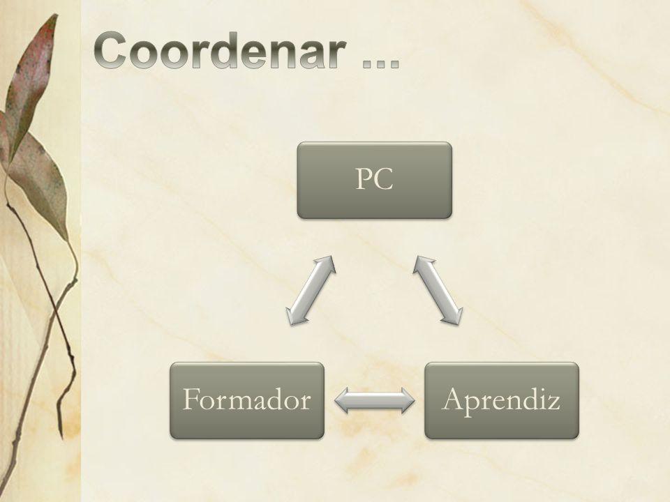 Coordenar ... PC Formador Aprendiz