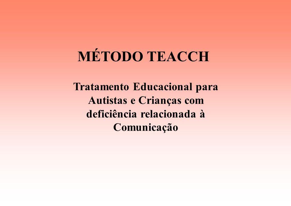 MÉTODO TEACCH Tratamento Educacional para Autistas e Crianças com