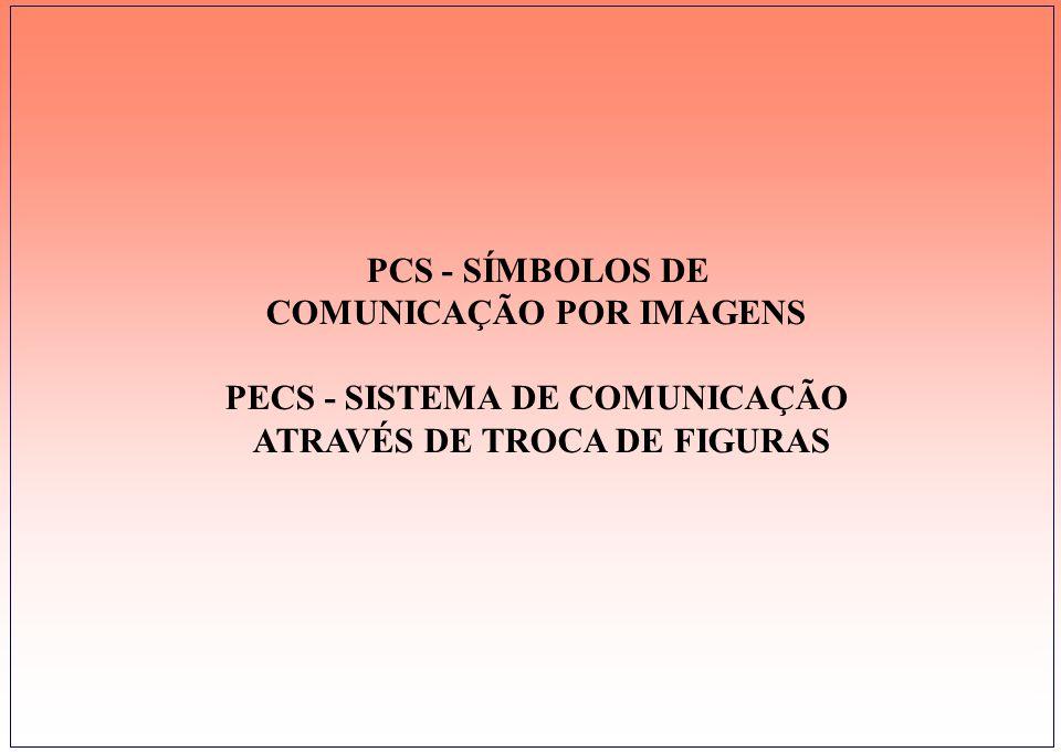 COMUNICAÇÃO POR IMAGENS PECS - SISTEMA DE COMUNICAÇÃO