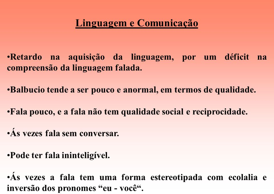 Linguagem e Comunicação
