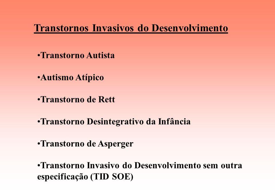 Transtornos Invasivos do Desenvolvimento