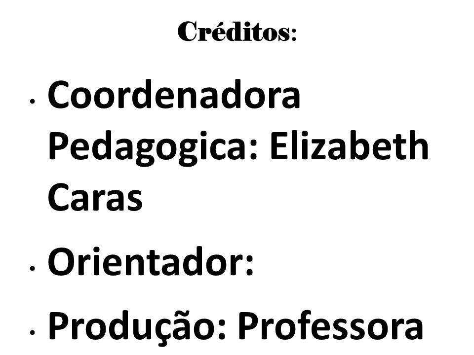 Coordenadora Pedagogica: Elizabeth Caras