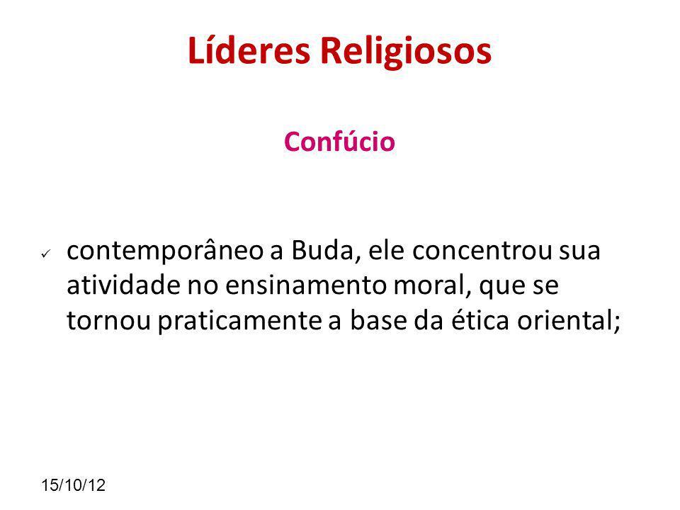 Líderes Religiosos Confúcio