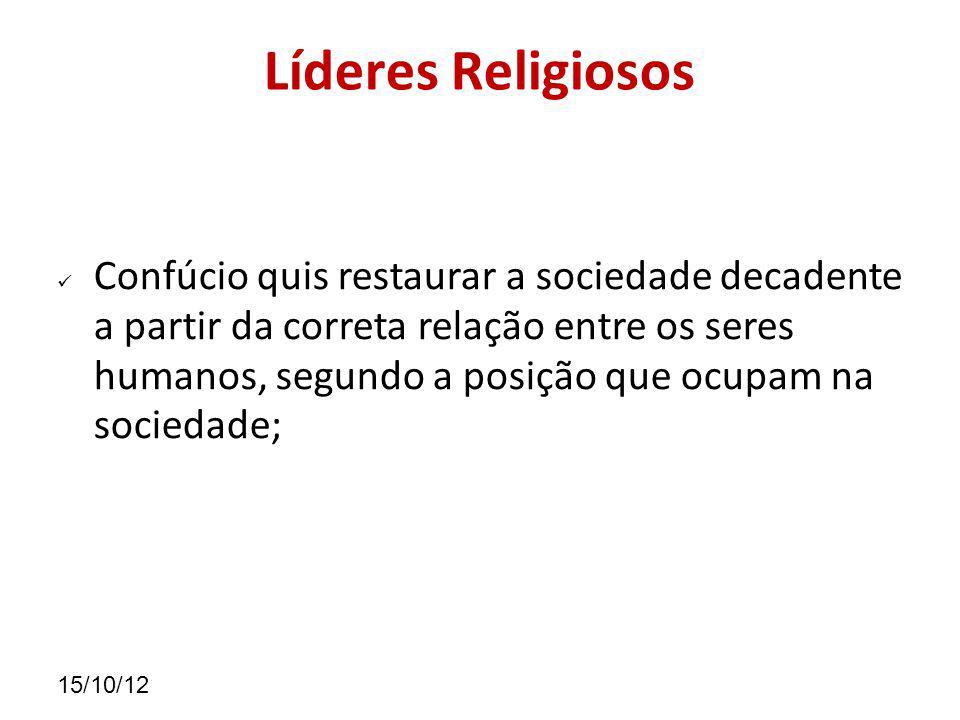 Líderes Religiosos