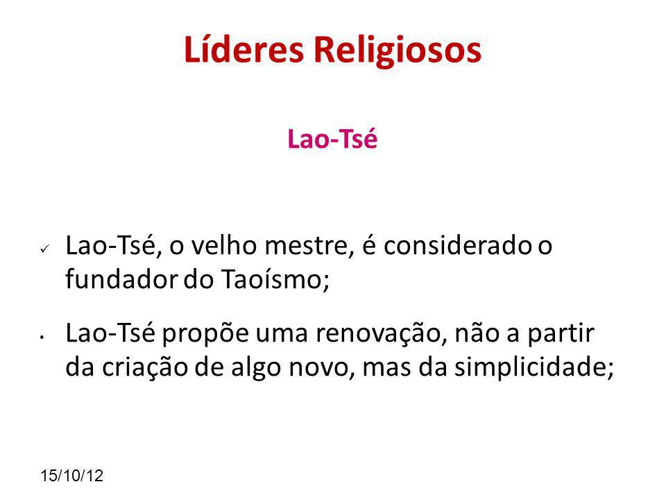Líderes Religiosos Lao-Tsé