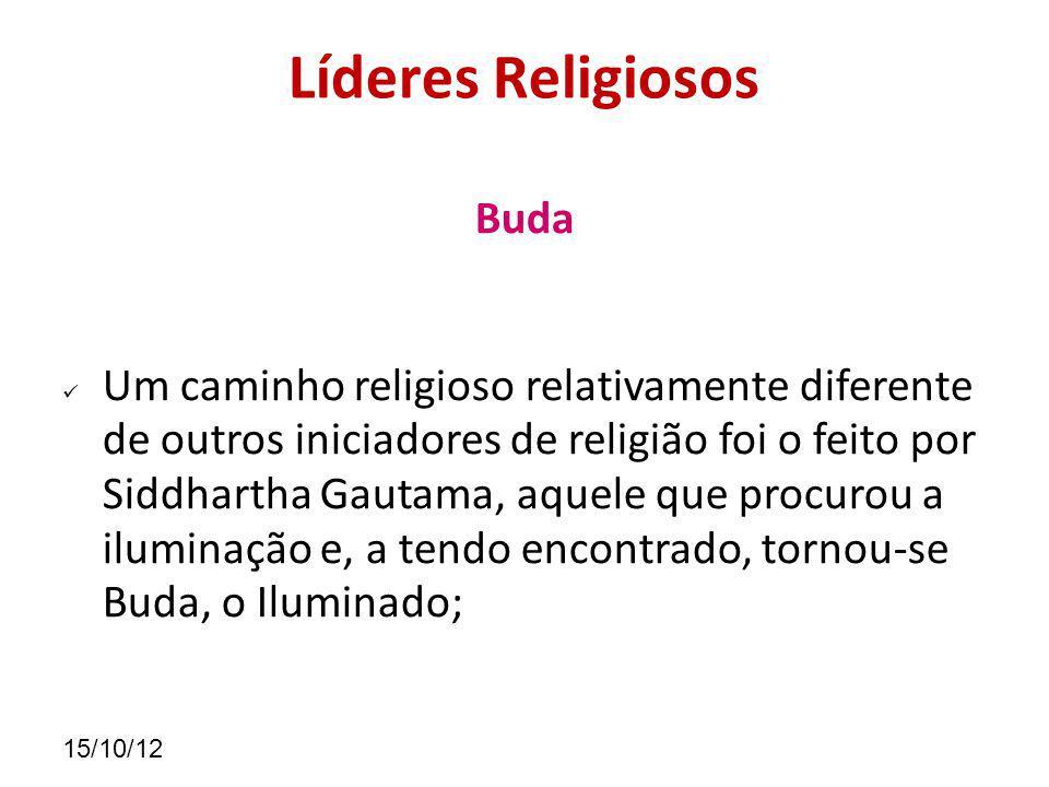 Líderes Religiosos Buda