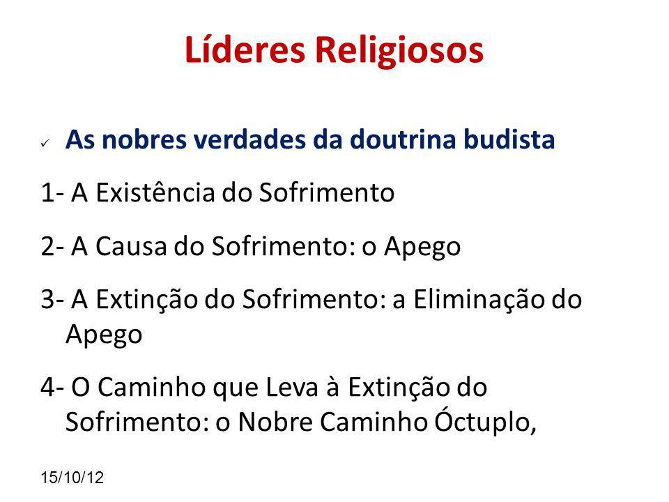 Líderes Religiosos As nobres verdades da doutrina budista