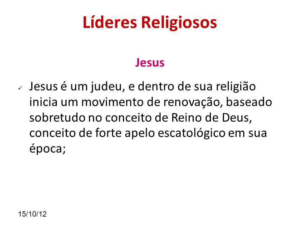 Líderes Religiosos Jesus