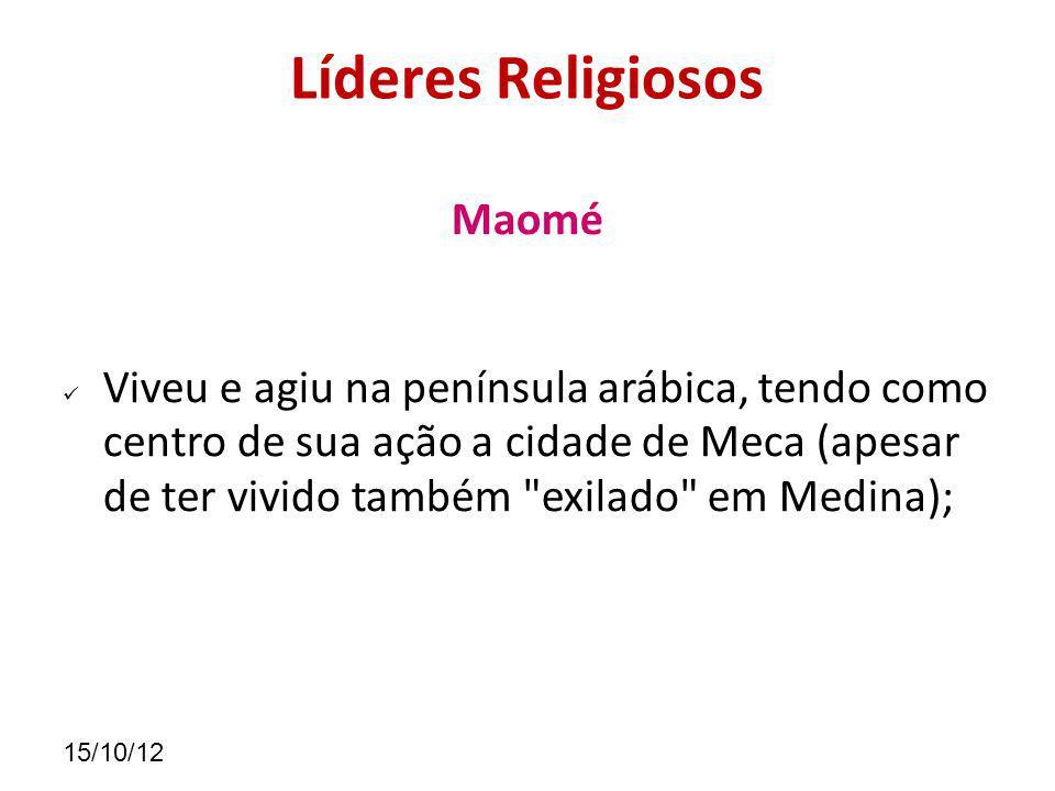 Líderes Religiosos Maomé