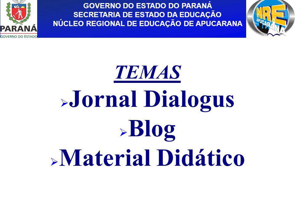Jornal Dialogus Blog Material Didático