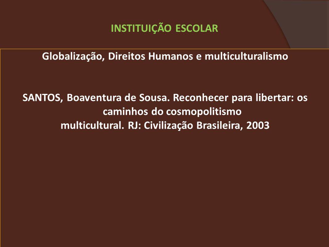 INSTITUIÇÃO ESCOLAR