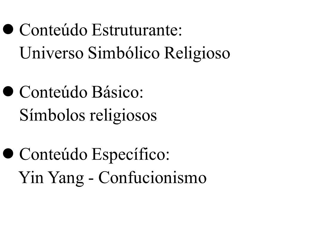 Conteúdo Estruturante: Universo Simbólico Religioso Conteúdo Básico: