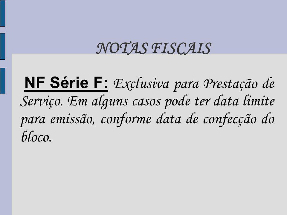 NOTAS FISCAIS