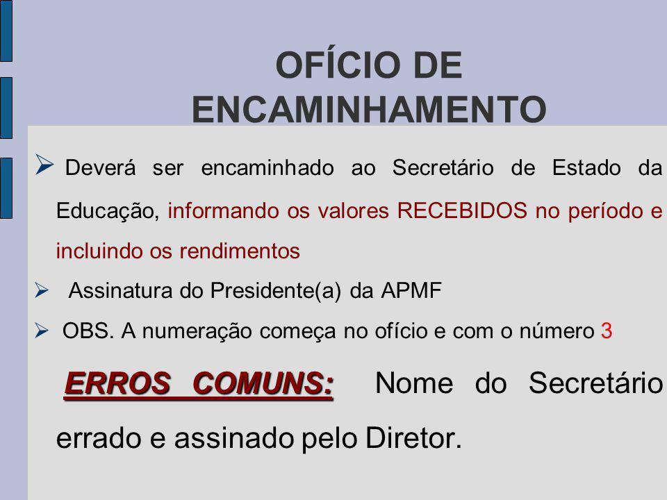 OFÍCIO DE ENCAMINHAMENTO
