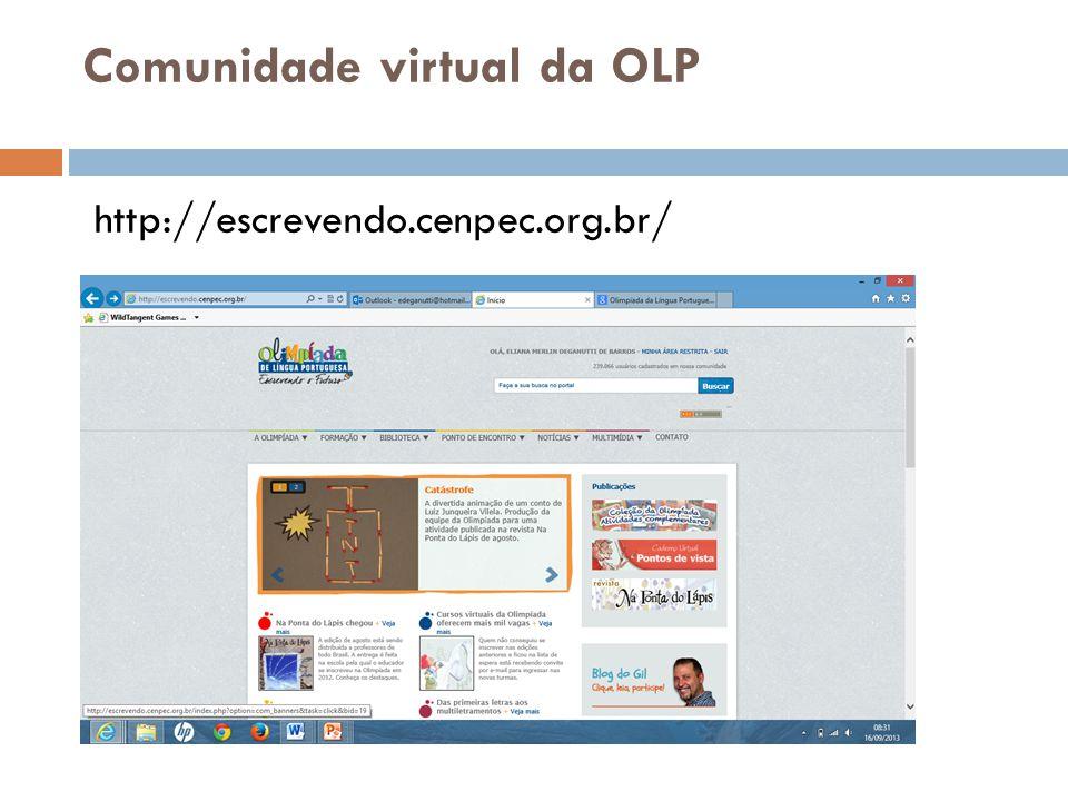 Comunidade virtual da OLP