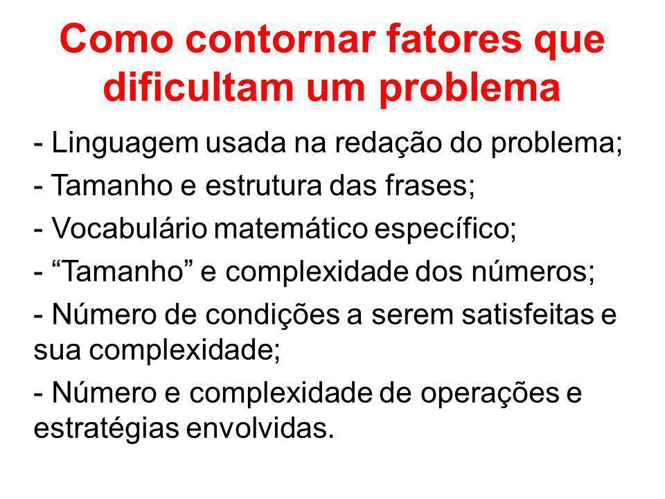 Como contornar fatores que dificultam um problema