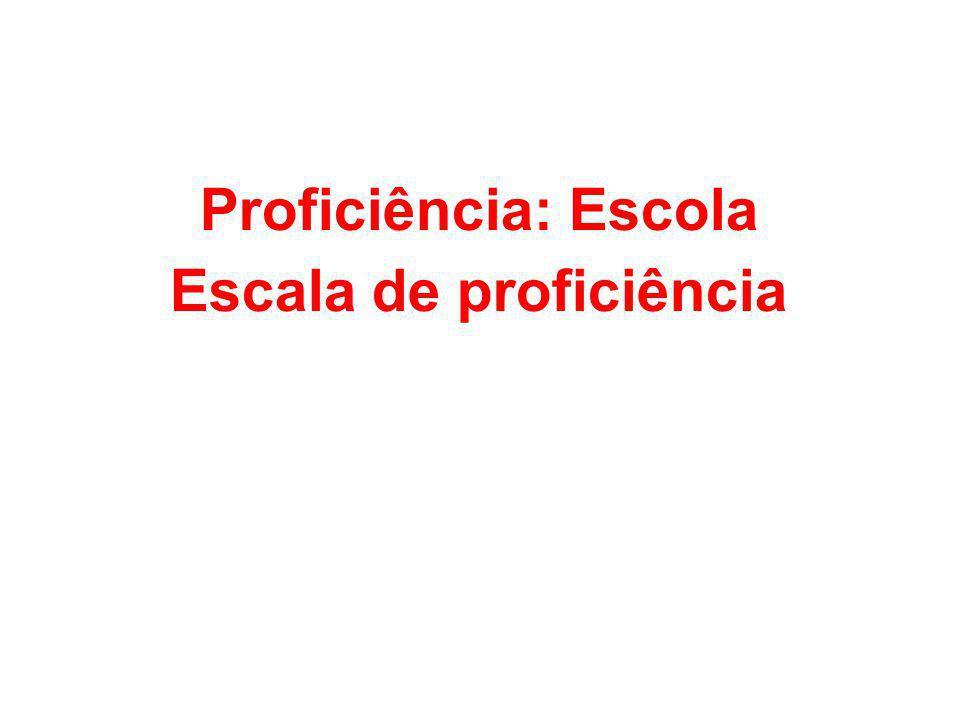 Escala de proficiência