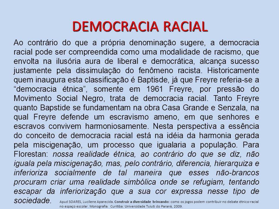 DEMOCRACIA RACIAL