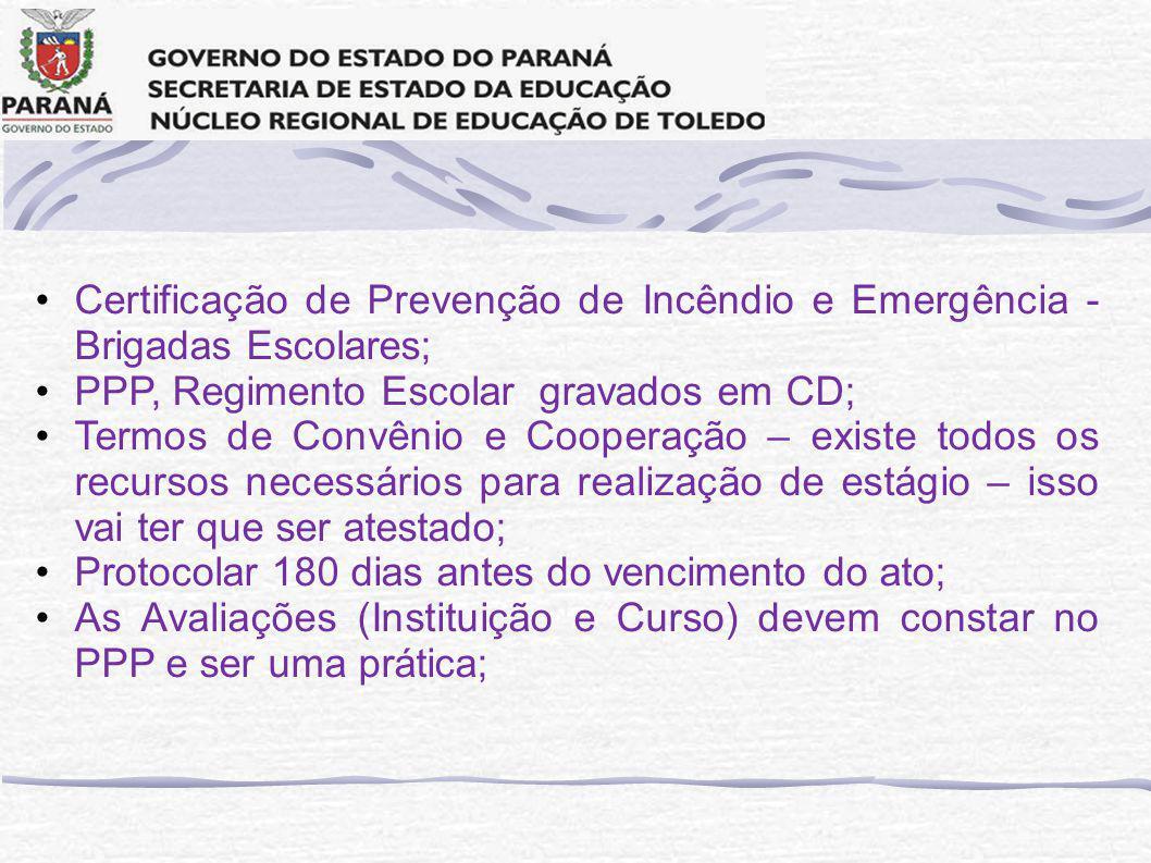 Certificação de Prevenção de Incêndio e Emergência - Brigadas Escolares;