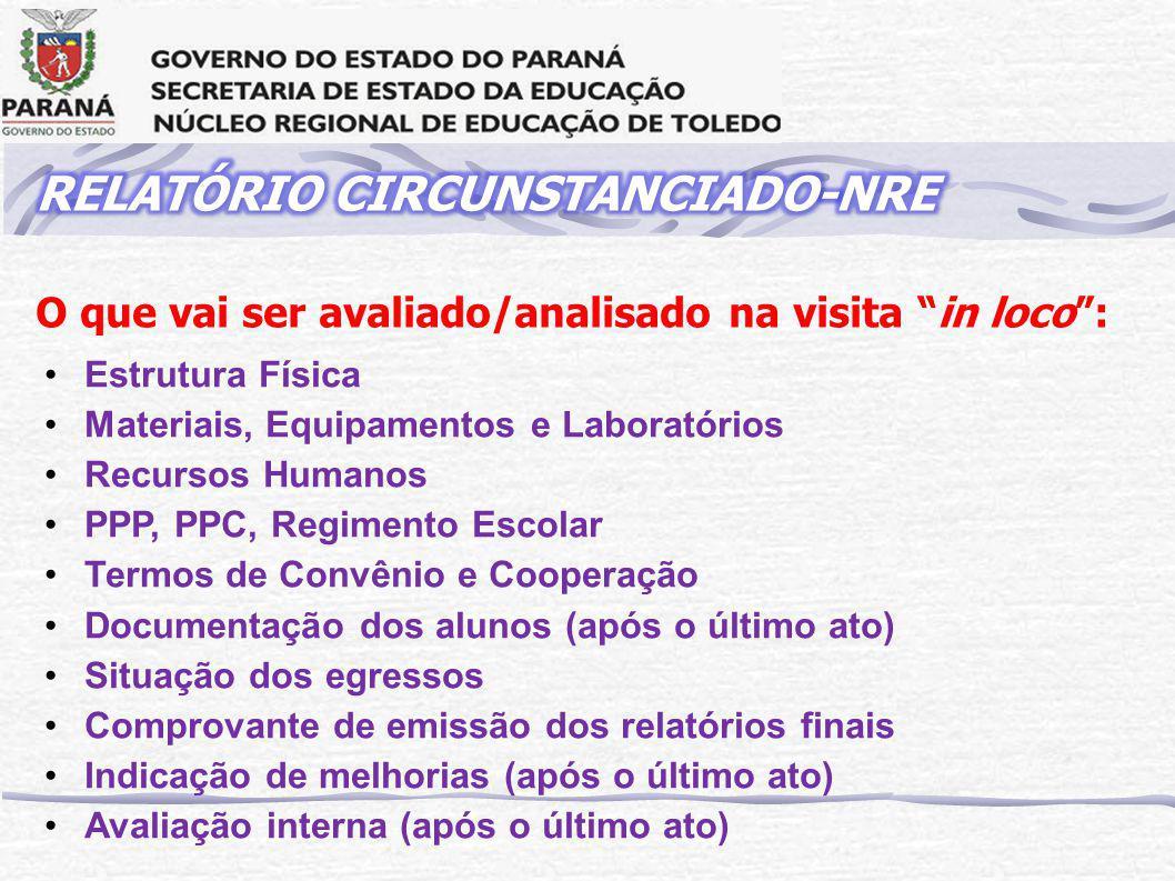 RELATÓRIO CIRCUNSTANCIADO-NRE