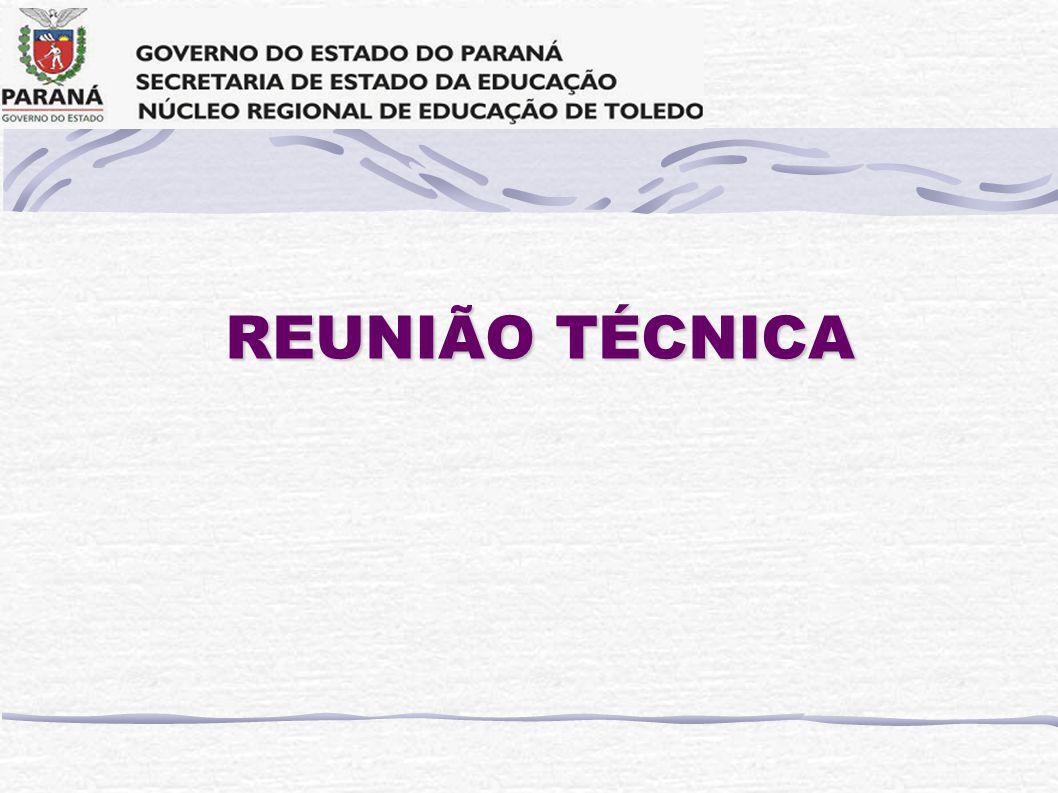 REUNIÃO TÉCNICA