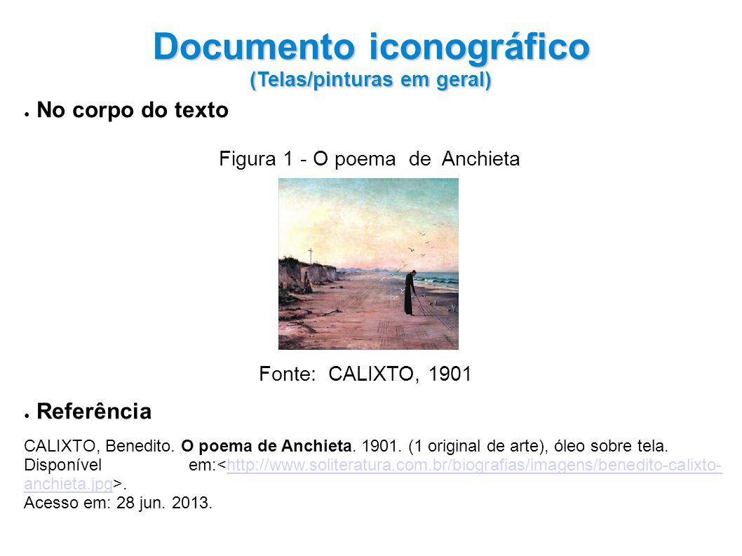 Documento iconográfico (Telas/pinturas em geral)