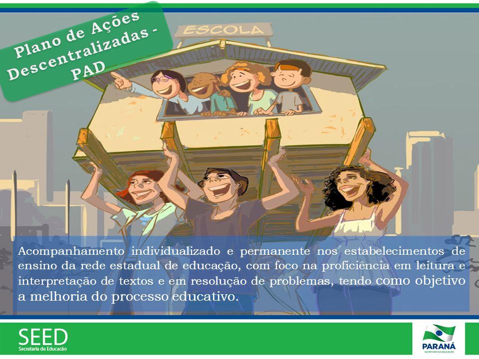 Plano de Ações Descentralizadas - PAD