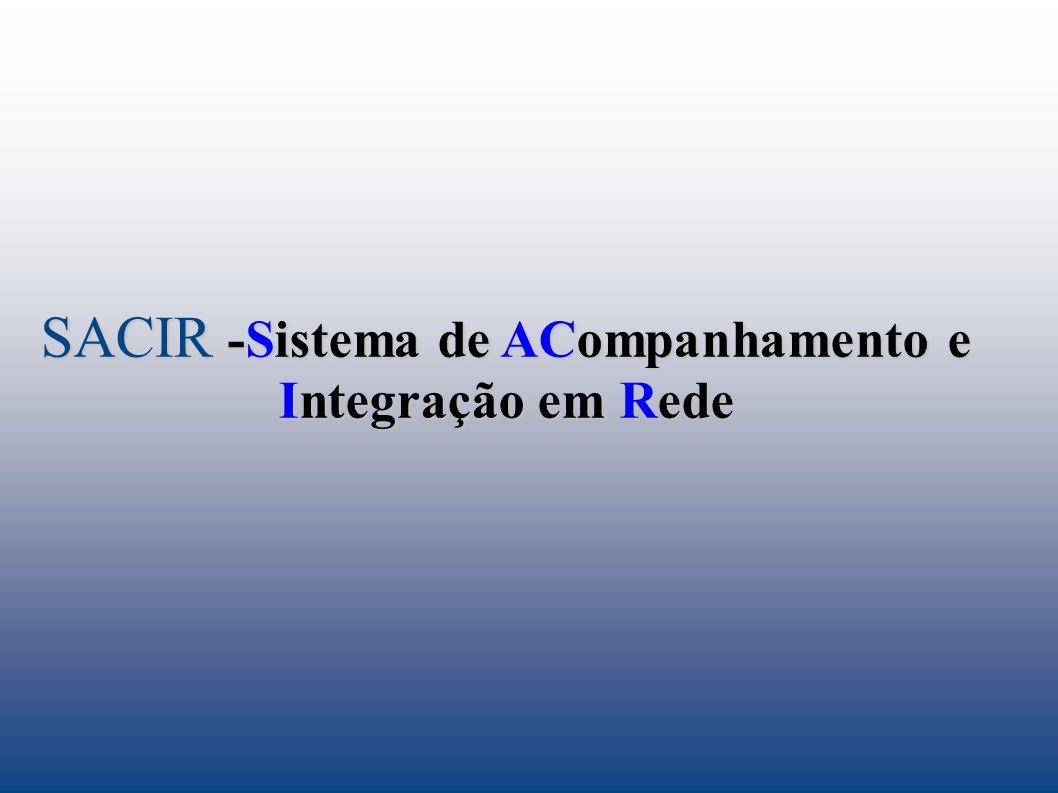 SACIR -Sistema de ACompanhamento e Integração em Rede