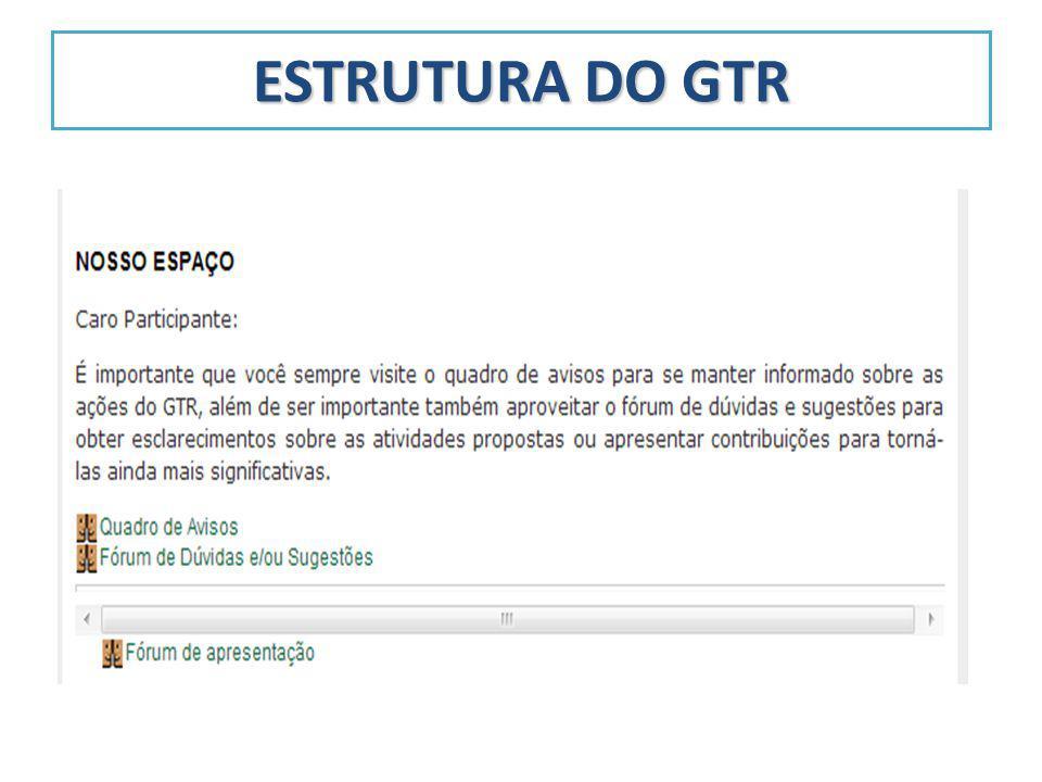 ESTRUTURA DO GTR 16