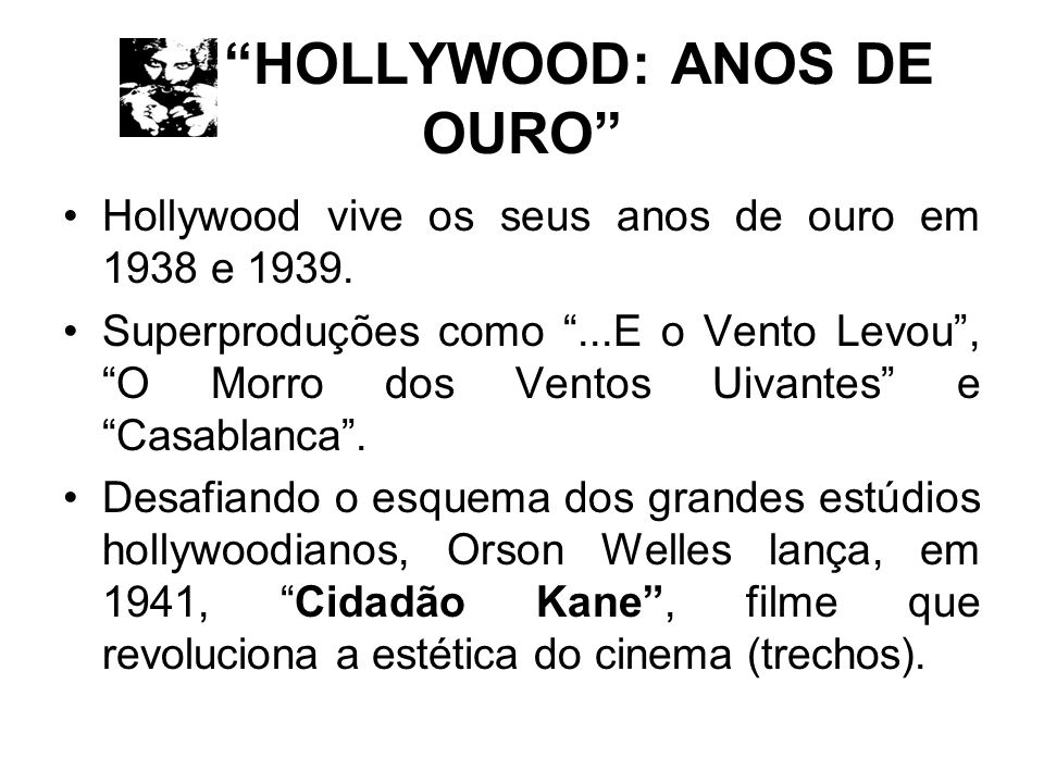 HOLLYWOOD: ANOS DE OURO