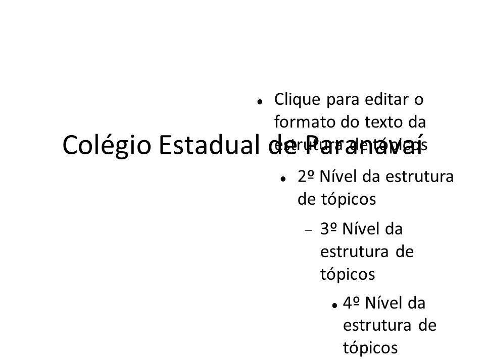 Colégio Estadual de Paranavaí