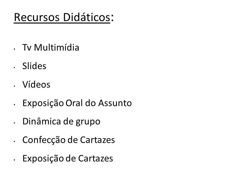 Recursos Didáticos: Tv Multimídia Slides Vídeos