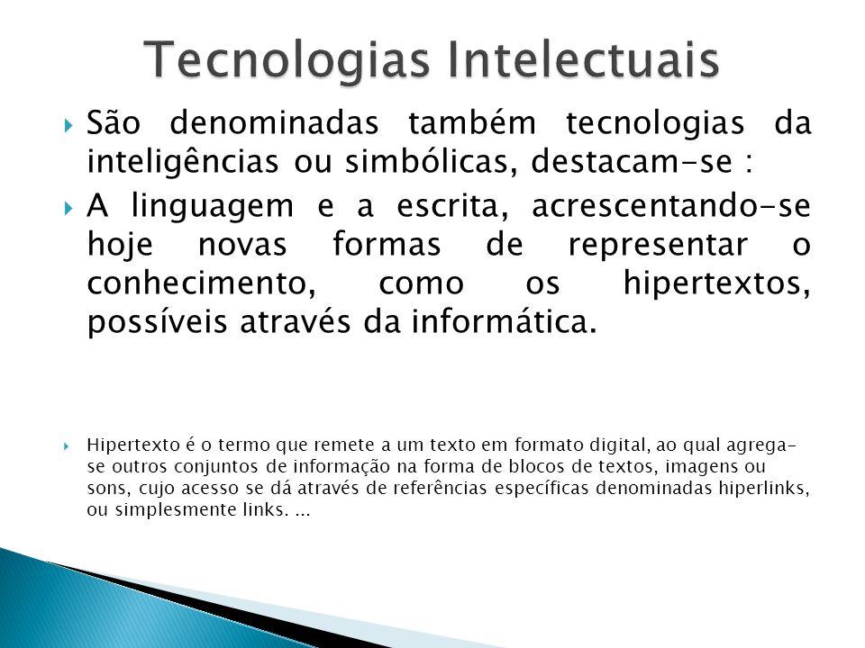 Tecnologias Intelectuais