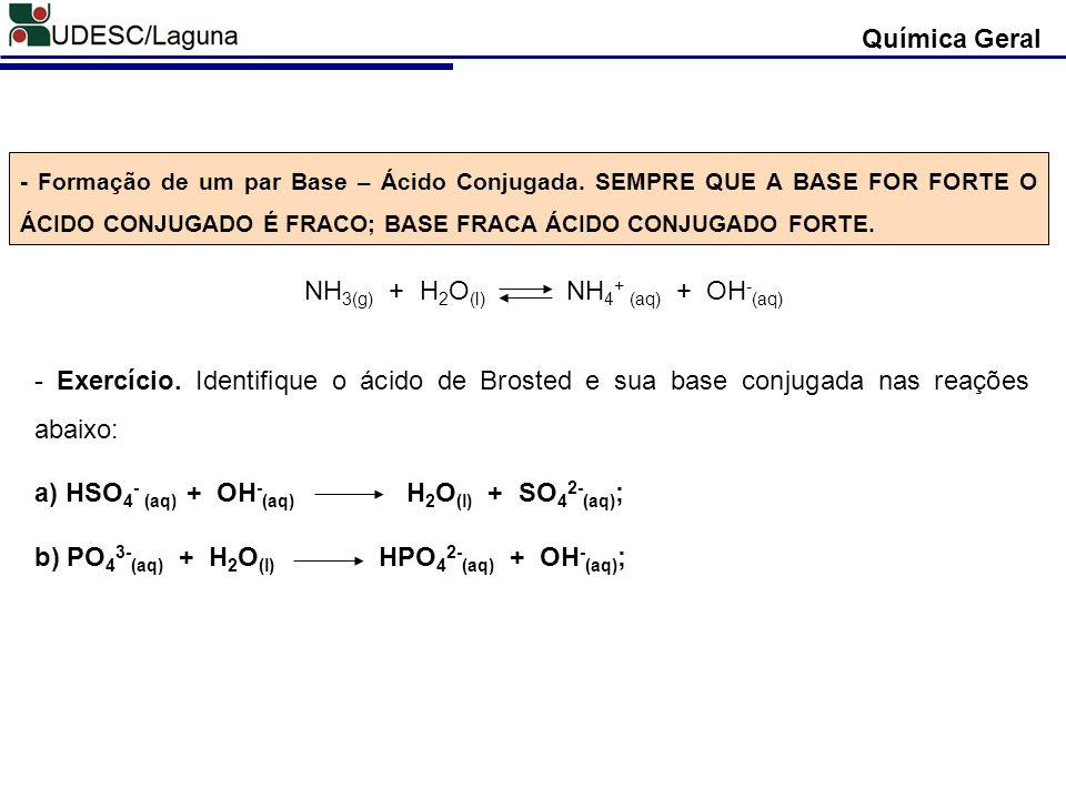 NH3(g) + H2O(l) NH4+ (aq) + OH-(aq)