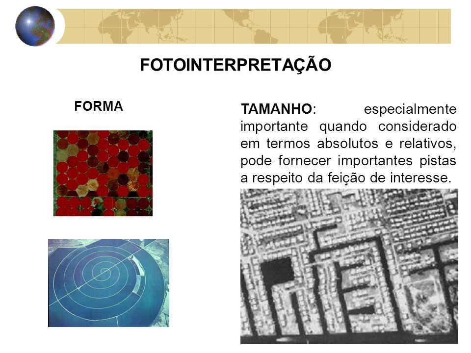 FOTOINTERPRETAÇÃO FORMA.
