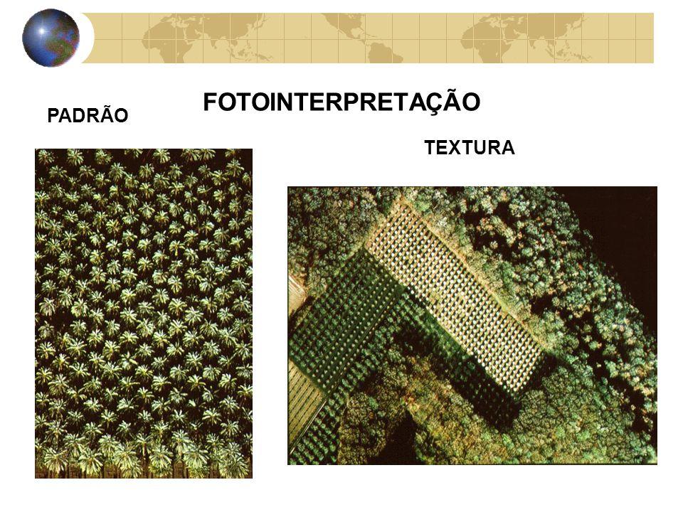 FOTOINTERPRETAÇÃO PADRÃO TEXTURA
