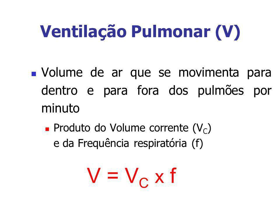 Ventilação Pulmonar (V)